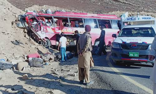 10 army soldiers among 26 killed as speeding bus rams into cliffs near Babusar Top | Bus carrying 37 passengers was enroute to Rawalpindi from Skardu when the mishap took place |
