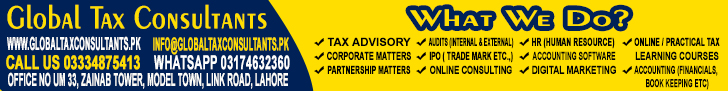 Global Tax Consultants, Lahore, Pakistan