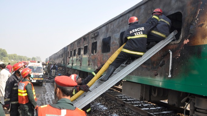 Tragedy: The Preliminary Investigation Report of a Fire in the Tezgam Express Has Been Completed – The Cause Of The Accident Has Come To Light