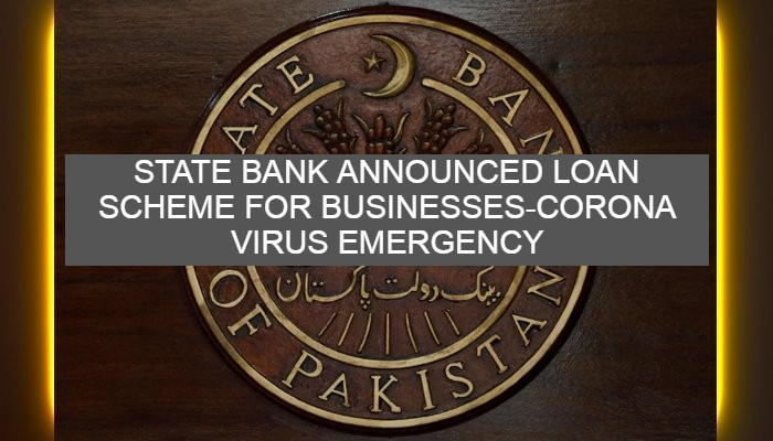 State Bank Introduced loan scheme for businesses to pay salaries